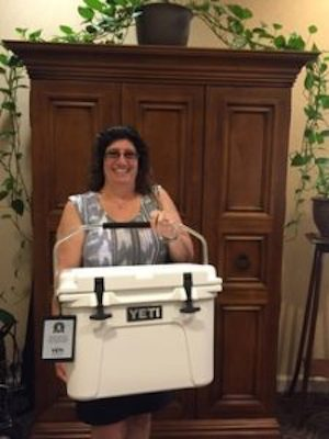 The Winner of the Yeti Cooler